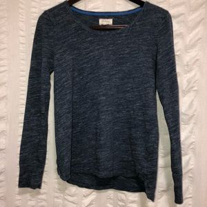 Lou & Grey Blue Space Dye Top